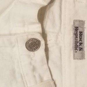 Rock & Republic Jeans * waist 24 *inseam 34.5